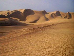 Die trockenste Wüste der Erde in Peru