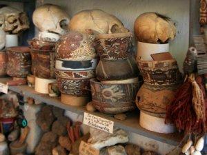 Artefacte alter Kulturen, PERU