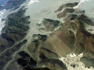 Großes Trapez, Bodenzeichnung nahe Nasca, PERU