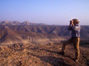 Dr. Bernd Kromer auf dem Cerro Carapo in PERU