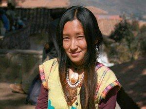 Junge Frau, Kunsthandwerkerin in Cusco, PERU