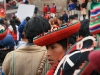 Demonstration der Kunsthandwerker in Cusco, PERU